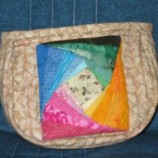 Avanti's first quilt square