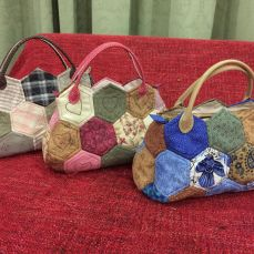 Hexagons handbag(S)