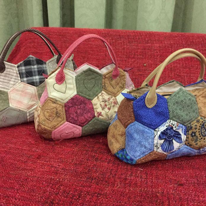 Hexagons handbag(S)