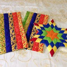 Table mats multicolor