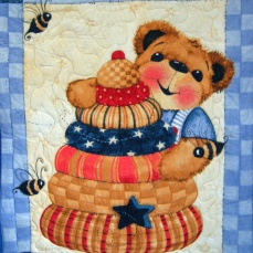 Teddy bear Panel 3