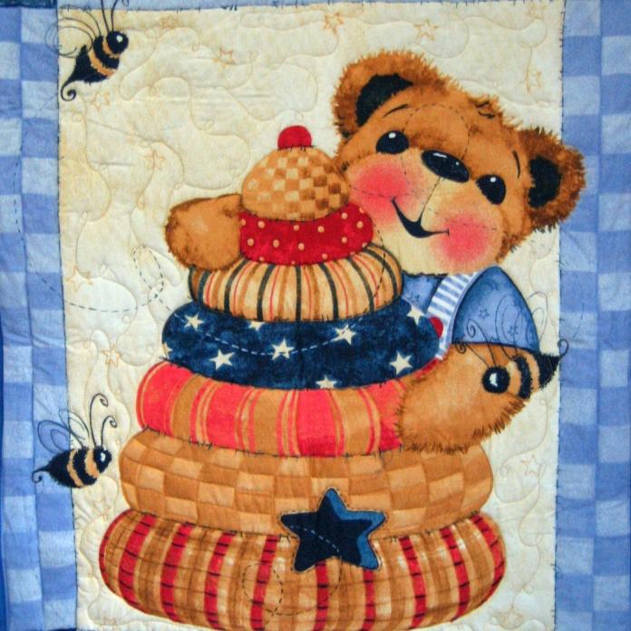 Teddy bear Panel 3